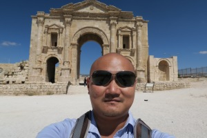 So I arrived in Jordan and this the entrance of Jerash City!!!