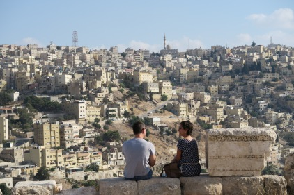Looking over Amman City